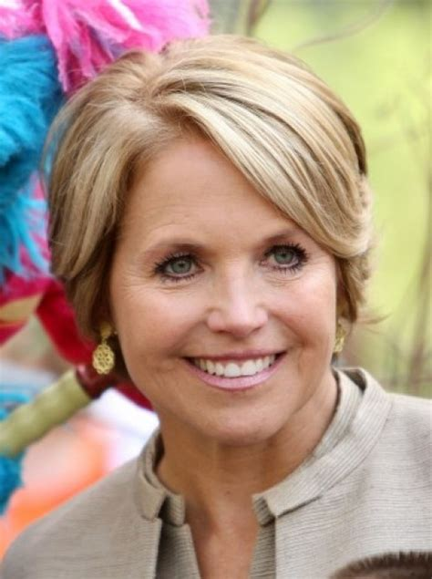 katie couric hairstyles over the years katie couric cute cuts pinterest