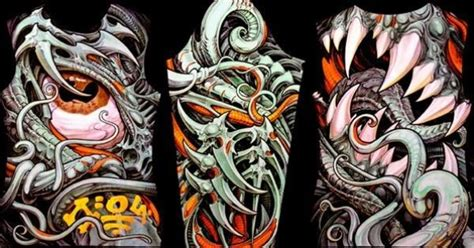 biomechanical tattoo cain aaron cain art tattoo artist aaron cain this guys art is