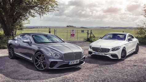 bentley mercedes bentley continental gt vs mercedes amg s63 coupe top gear