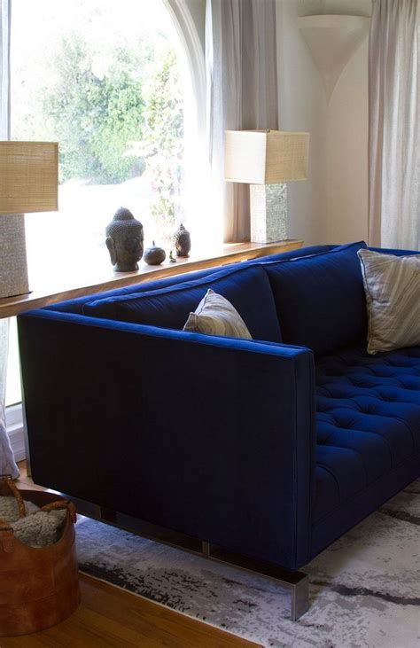 royal blue furniture victoria braden s contemporary family home blue