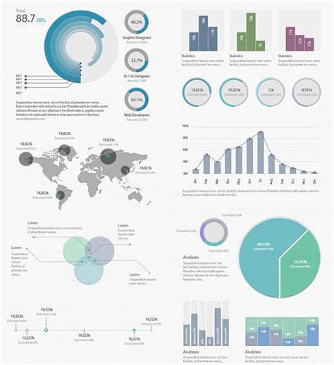 20 Free Editable Infographic Templates Utemplates Editable Infographic Templates