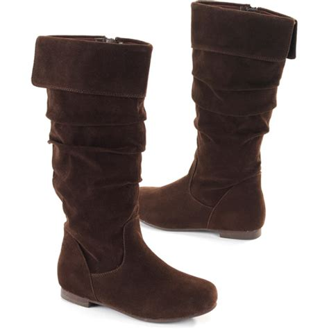 l e i shay sueded boots shoes walmart