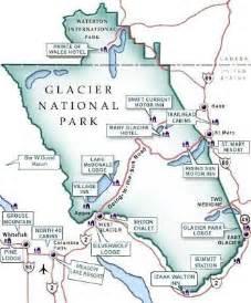 us map glacier national park glacier national park map wanderlust united states of