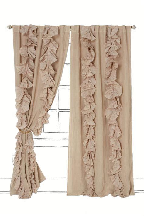 ruffle curtain tutorial 25 best ruffled curtains ideas on pinterest ruffle