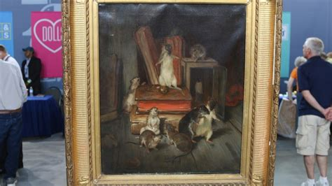 philibertl233on couturier oil painting ca 1875 antiques