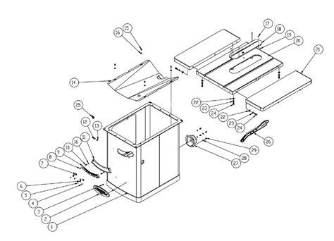 powermatic table saw parts buy powermatic 1720305k pm3000 14 inch 7 5hp 3ph table
