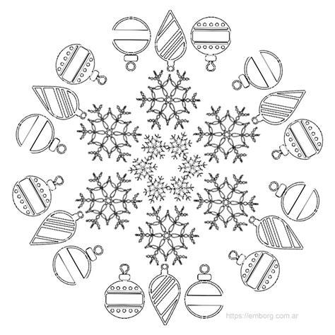 imagenes de mandalas navide as para pintar 7 mandalas de navidad para colorear celina emborg