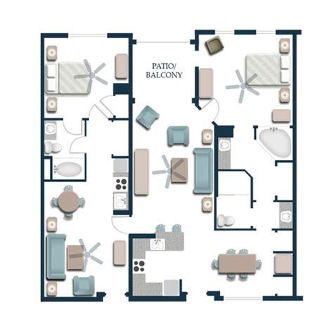 two bedroom premium villas harborside resort at atlantis timeshare villas