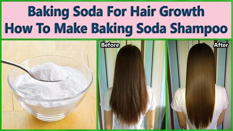 baking soda for hair growth diy baking soda shoo at