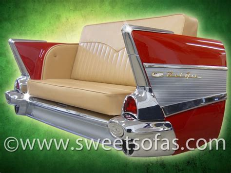 57 chevy sofa chevy sofa pop art decoration vehicles formula 1 sofas 56