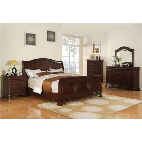 Nfm Bedroom Sets by Cameron 4 King Bedroom Set In Cherry Nebraska