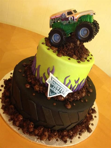 grave digger monster truck birthday party 1000 images about blaze and the monster machine cakes on