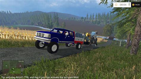 cummins pickup bed log truck for fs15 farming simulator f450 archives farming simulator 17 19 mods fs17 19 mods
