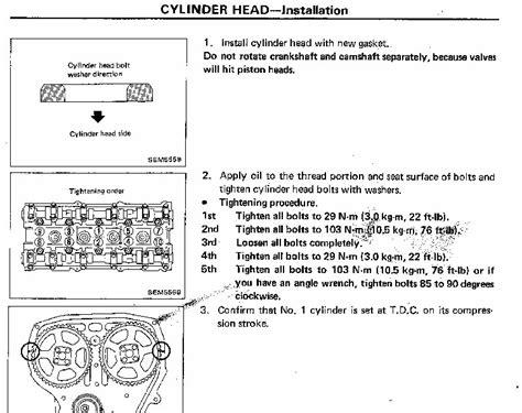 Ca18det Headtorque Specs