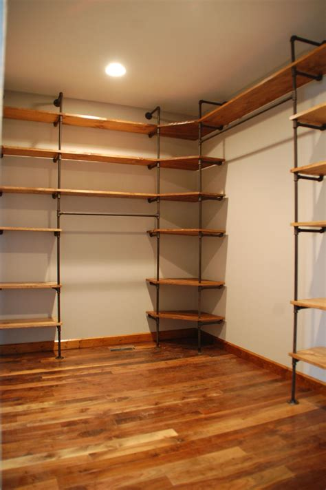 Walk In Closet Shelving How To Customize A Closet For Improved Storage Capacity