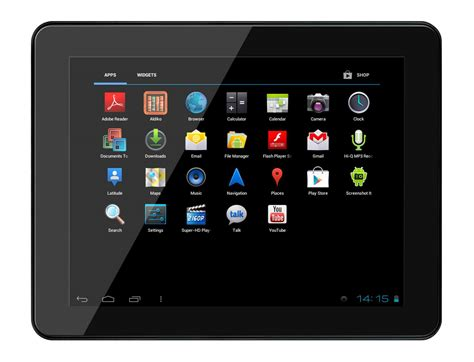 top android tablets the top five android tablets on the market