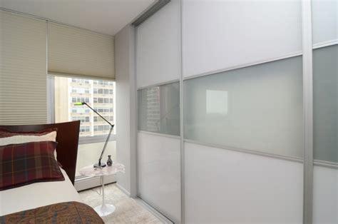 frosted glass sliding closet door custom closet toronto closets toronto space age closets