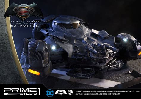 Batman V Superman 1 batman v superman of justice batmobile statue by
