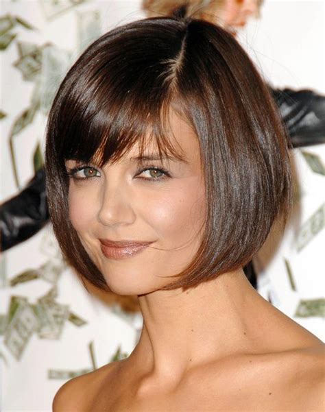how to cut a katie holmes bob katie holmes bob hairstyle my style pinterest