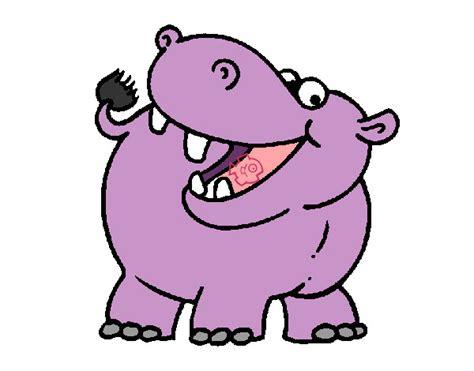 imagenes infantiles hipopotamo dibujo de hipo pintado por dani0123 en dibujos net el d 237 a