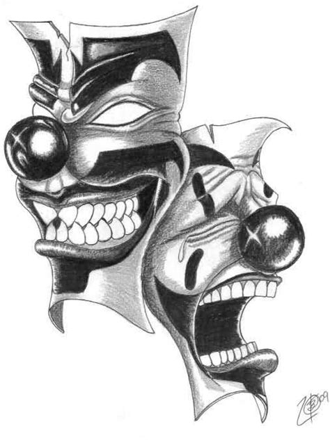nice loughing icp joker tattoo design tattooshunter com