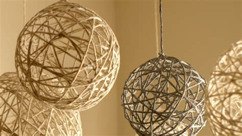 String Balloon - diy string ornaments and lanterns