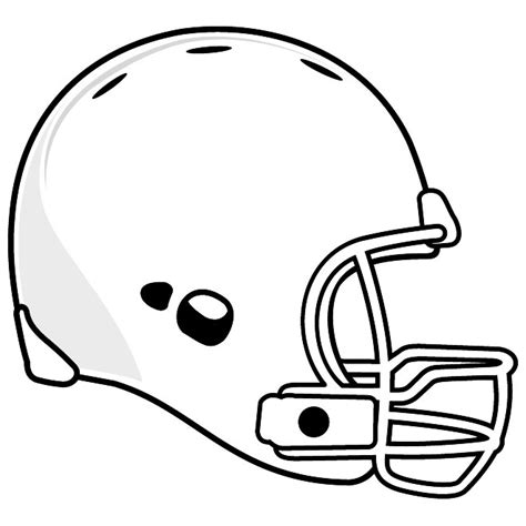 football helmet template revolution helmet free vector at vectorportal