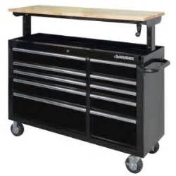 Rent To Own Husky 52 Inch 10 Drawer Mobile Workbench With by Husky 52 In 10 Drawer Mobile Workbench With Adjustable