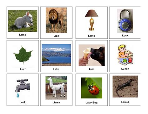 5 Letter Words That Start With L clear speech therapy l words