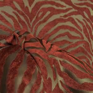 serengeti cinnamon animal print chenille fabric ebay