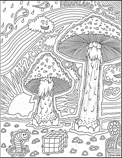 Trippy Coloring Pages Mushrooms by Http Www Images Search Q Trippy