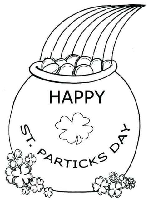 free printable st day coloring pages free printable st s day coloring pages