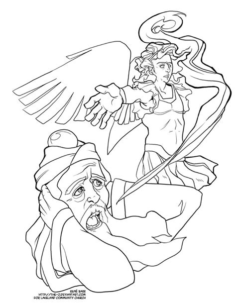 coloring page zechariah advent coloring page zechariah by the z on deviantart
