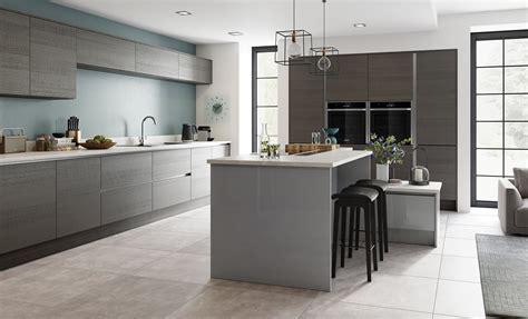 Tavola Anthracite & Zola Gloss Dust Grey  Kitchen Stori