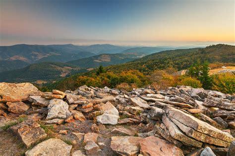 Knob Mountain by Spruce Knob Mountain Sunset By Somadjinn On Deviantart