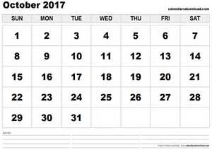 Calendar October 2017 Excel October 2017 Calendar Excel Weekly Calendar Template