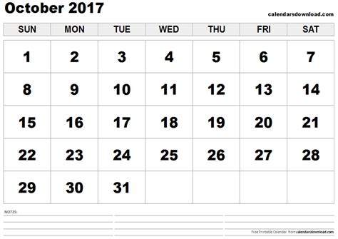 A Calendar For The Month Of October 2017 October 2017 Calendar With Us Holidays