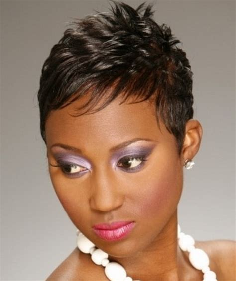 short haircuts for fine dark hair short hairstyles for black women with thin hair
