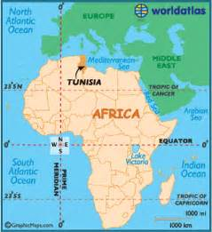 Tunisia On World Map by Tunisia Map Geography Of Tunisia Map Of Tunisia