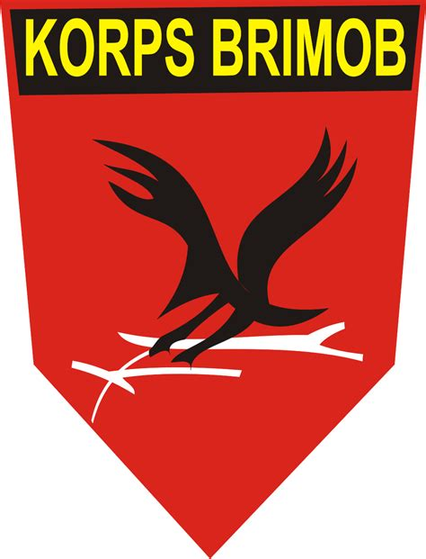gambar brimob logo brimob kumpulan logo indonesia