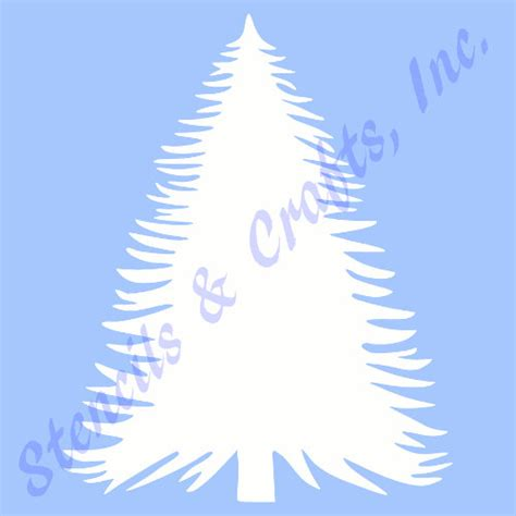 pine tree stencil trees stencils background pattern leaf
