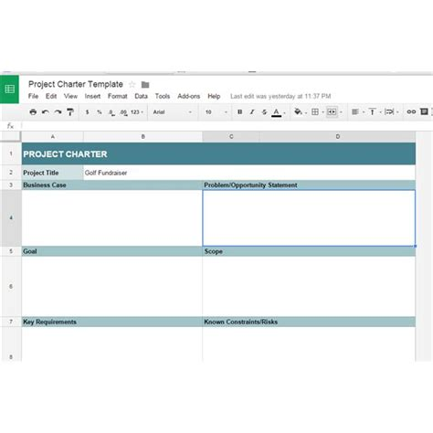 10 Great Google Docs Project Management Templates Docs Templates