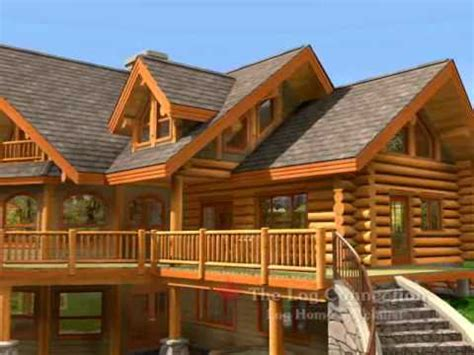 bavarian stacked log home by the log connection