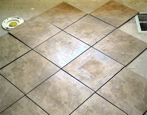 installing tile floor in bathroom tips on installing tile floor in bathroom creative home designer