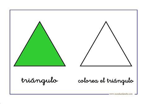 imagenes de triangulos verdes figuras geometricas triangulo