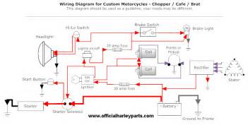 simple wiring diagram harley davidson forums
