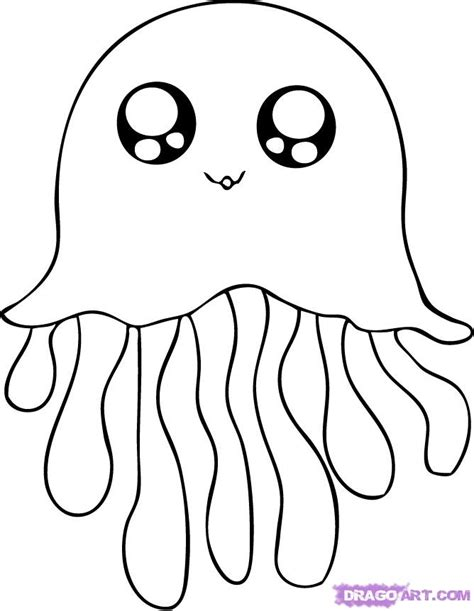 box jellyfish coloring page image of view full size more cute jellyfish coloring pages