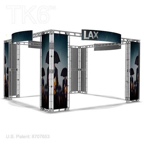 20 Tk Stel Kode 9831 angeles 20 x 20 trade show truss display exhibit booth