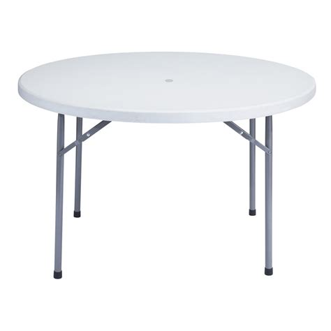 plastic fold up table series 48 quot 4 ft plastic folding table with