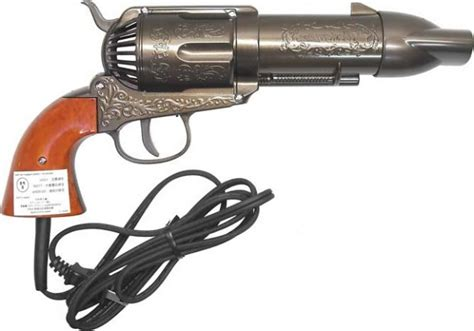 Hair Dryer Revolver western revolver hair dryer the parlour by salonmonster